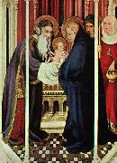 Broederlam, Melchoir The Presentation in the Temple oil painting artist