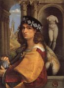 CAPRIOLO, Domenico Portrait of a Gentleman oil painting artist