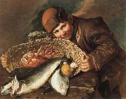 CERUTI, Giacomo Boy with a  Basket of Fish oil painting picture wholesale