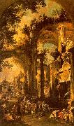 Canaletto An Allegorical Painting of the Tomb of Lord Somers oil painting picture wholesale
