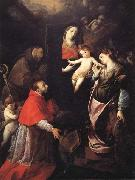 Cerano Madonna and Child with SS.Francis,Charles,and Catherine of Alexandria oil painting picture wholesale