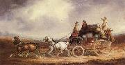 Charles Cooper The Edinburgh-London Royal Mail on the Road oil painting picture wholesale