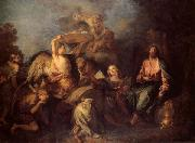 Charles de Lafosse The Temptation of Christ oil painting picture wholesale