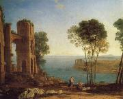 Claude Lorrain The Harbor of Baiae with Apollo and the Cumaean Sibyl oil painting picture wholesale