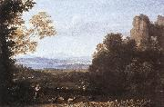 Claude Lorrain Landscape with Apollo and Mercury oil painting picture wholesale