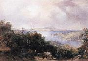 Conrad Martens Sydney Harbour Looking Towards the North End oil painting picture wholesale