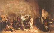 Courbet, Gustave The Painter s Studio oil painting picture wholesale