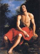 Cristofano Allori St.John the Baptist in the Desert oil painting artist