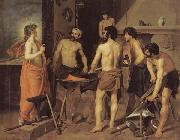 Diego Velazquez Vulcan's Forge oil painting picture wholesale