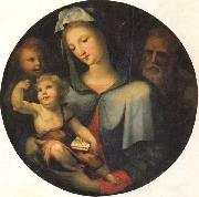 Domenico Beccafumi The Holy Family with the Young St.John oil painting artist