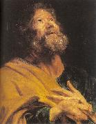 Dyck, Anthony van The Penitent Apostle Peter oil painting picture wholesale
