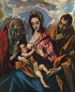 El Greco Holy Family oil painting picture wholesale