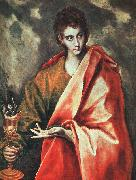 El Greco St. John the Evangelist oil painting picture wholesale