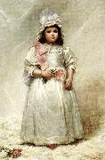 Elizabeth Lyman Boott Duveneck Little Lady Blanche Spain oil painting reproduction