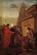 Eustache Le Sueur King Darius Visiting the Tomh of His Father Hystaspes oil painting picture wholesale