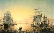 Fitz Hugh Lane Boston Harbor oil painting artist