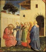 Fra Angelico The Naming of the Baptist oil painting picture wholesale