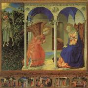 Fra Angelico Altarpiece of the Annunciation oil painting picture wholesale