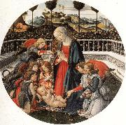 Francesco Botticini The Adoration of the Child oil painting picture wholesale