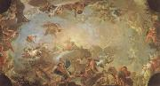 Francisco Bayeu Olympus-The Fall of the Giants oil painting artist