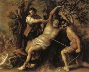 Francisco Camilo The Martyrdom of St.Bartholomew oil painting artist