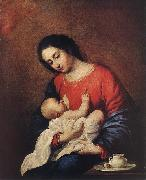 Francisco de Zurbaran Madonna with Child oil painting picture wholesale
