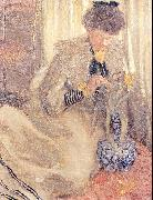 Frieseke, Frederick Carl The Yellow Tulip oil painting artist