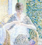 Frieseke, Frederick Carl On the Balcony oil painting artist