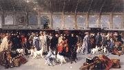George Earle Going North,King's Cross Station oil painting picture wholesale