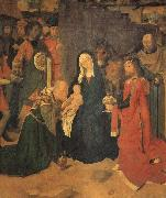 Gerard David The Adoration of the Magi oil painting picture wholesale