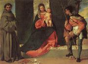 Giorgione Madonna and Child with SS.ANTHONY AND rOCK oil painting picture wholesale