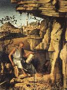 Giovanni Bellini St.Jerome in the Desert oil painting picture wholesale