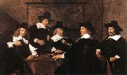 HALS, Frans Regents of the St Elizabeth Hospital of Haarlem oil painting picture wholesale