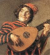 HALS, Frans Buffoon Playing a Lute oil painting picture wholesale