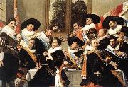 HALS, Frans Banquet of the Officers of the St Hadrian Civic Guard Company oil painting picture wholesale