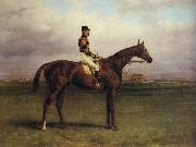 Harry Hall Mr.R.N.Blatt's 'Thorn' With Busby Up on york Bacecourse oil painting picture wholesale
