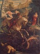 Jacopo Tintoretto St.George and the Dragon oil painting picture wholesale