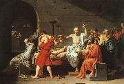Jacques-Louis David The Death of Socrates oil painting artist
