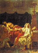Jacques-Louis David Andromache Mourning Hector oil painting picture wholesale