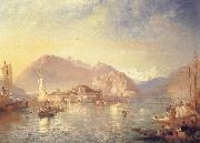 James Baker Pyne Isola Bella,Lago Maggiore oil painting picture wholesale