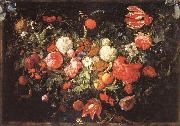 Jan Davidsz. de Heem A Festoon of Flowers and Fruit oil painting picture wholesale