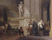 Jan Weenix The Departure of the prodigal son oil painting artist