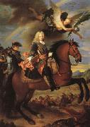 Jean Ranc Equestrian Portrait of Philip V oil painting artist