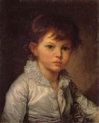 Jean-Baptiste Greuze Count P.A Stroganov as a Child oil painting artist