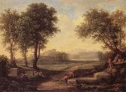 Johann Christian Reinhart An Ideal Landscape oil painting picture wholesale