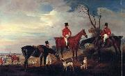 John Ferneley John,Henry and Francis Grant at Melton oil painting picture wholesale