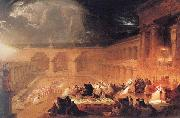John Martin Belshazzar's Feast oil painting picture wholesale