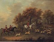 John Nost Sartorius Entering The Woods,A Hunt oil painting picture wholesale