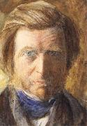 John Ruskin Self-Portrait oil painting artist