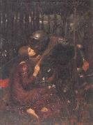 John William Waterhouse La Belle Dame sans Merci oil painting picture wholesale